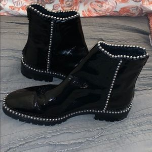 Ball and chain Free People boots